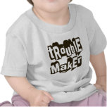 TROUBLEMAKER funny tshirt graphic tee shirt infant