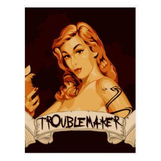 TroubleMaker Postcard