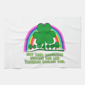 TROUBLES - IRISH BLESSING TOWELS
