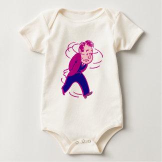 Troubles procures concerns troubled baby bodysuit