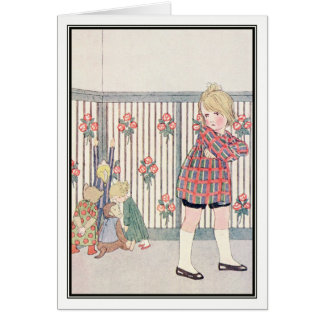 Troublesome Children by H. Willebeek Le Mair Card