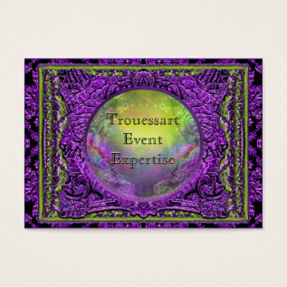 Trouessart Plush  Indestructible Business Card at Zazzle