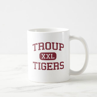 Troup - Tigers - Troup Middle School - Troup Texas Classic White Coffee Mug