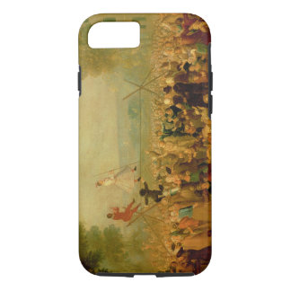 Troupe of Actors Performing on a Tightrope iPhone 8/7 Case