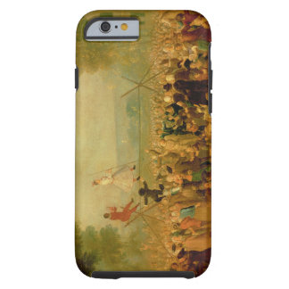 Troupe of Actors Performing on a Tightrope Tough iPhone 6 Case