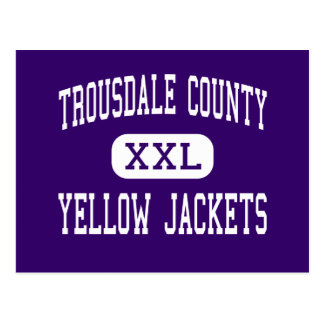 Trousdale County - Yellow Jackets - Hartsville Postcard