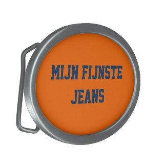 trousers oar loop oval uni orange oval belt buckle