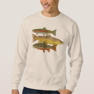 Trout Apparel Pullover Sweatshirts