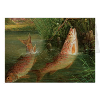 Trout at Winchester Card