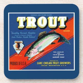 Trout Brand Coaster