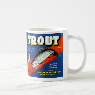 Trout Brand Coffee Mug