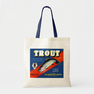 Trout Brand Tote Bag