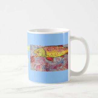 trout bum coffee mug