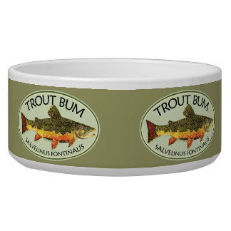 Trout Bum Fishing Bowl
