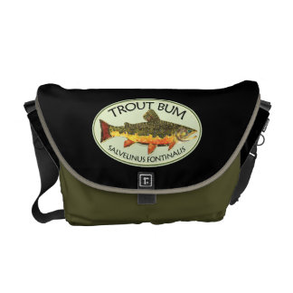 Trout Bum Fishing Courier Bag