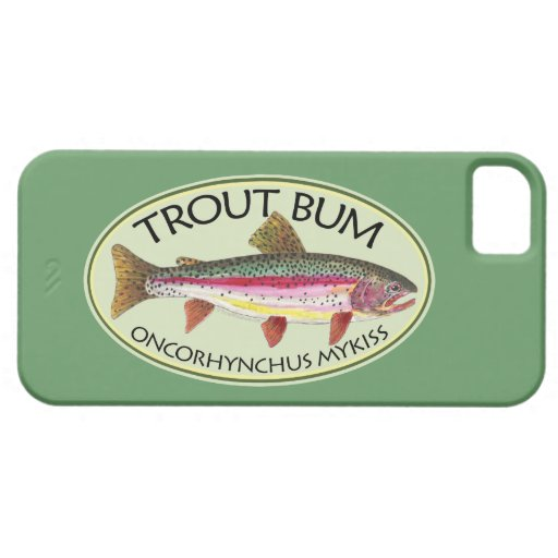 Trout Bum Fishing iPhone 5 Covers