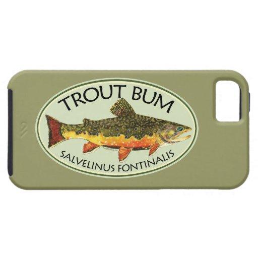 Trout Bum Fishing iPhone SE/5/5s Case