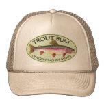 Trout Bum Fishing Mesh Hat