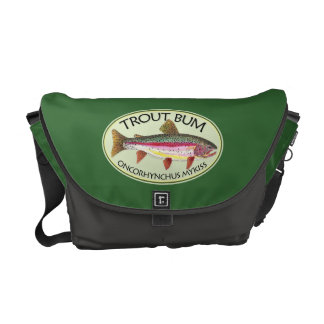 Trout Bum Fishing Messenger Bag