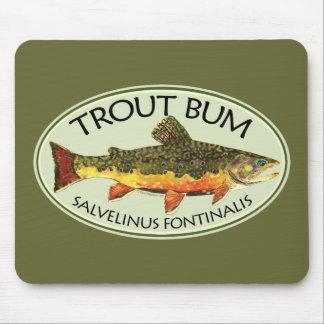 Trout Bum Fishing Mousepad