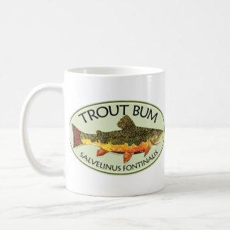 Trout Bum Fishing Mug