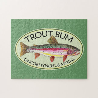 Trout Bum Fishing Puzzle