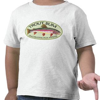 Trout Bum Fishing Tee Shirts