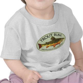 Trout Bum Fishing Tshirts