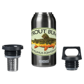 TROUT BUM INSULATED WATER BOTTLE