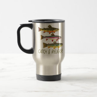 Trout Catch and Release Coffee Mug
