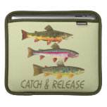Trout Catch and Release Sleeves For iPads