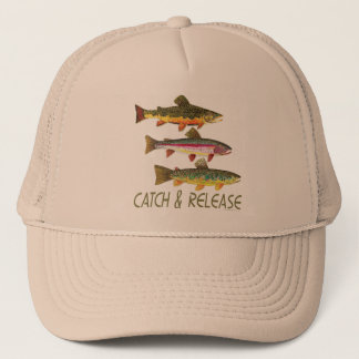 Trout Catch and Release Trucker Hat