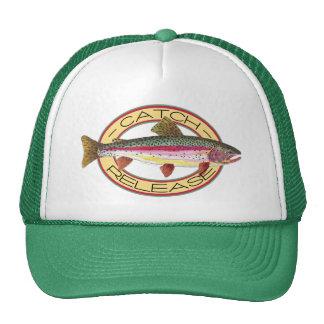 Trout Catch & Release Fishing Trucker Hats