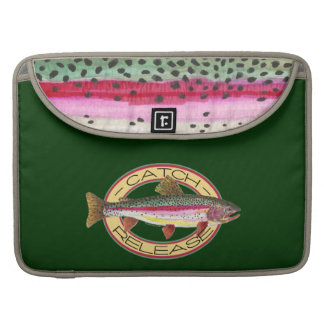 Trout Catch & Release Fishing MacBook Pro Sleeve