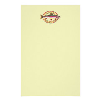 Trout Catch & Release Fishing Custom Stationery