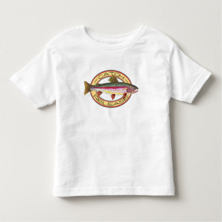 Trout Catch & Release Little Fisherman Toddler T-shirt
