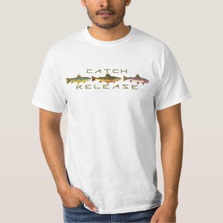 Trout Catch & Release Tshirts