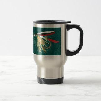 """""""Trout Fin - Cruel Trout"""" Fly Fishing Mug"""