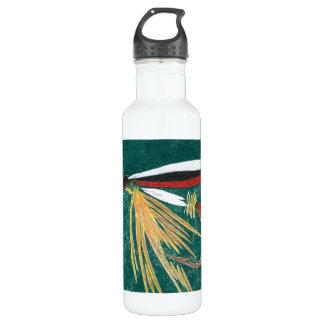 """""""Trout Fin"""" Wet Fly Water Bottle"""