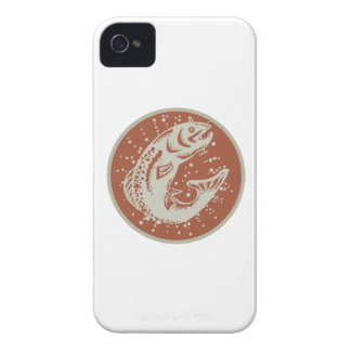 Trout Fish Jumping Retro Blackberry Bold Case
