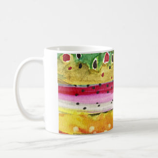 Trout Fisherman Classic White Coffee Mug