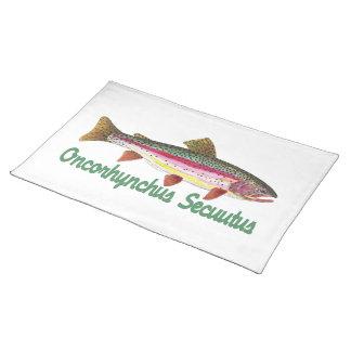 Trout Fisherman Placemat