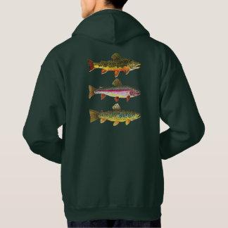 Trout Fisherman's Hoodie