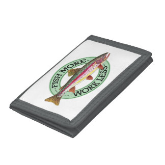 Trout Fisherman's Trifold Wallets