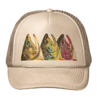 Trout Fisherman's Trucker Hat