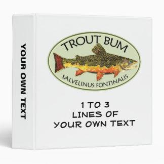 Trout Fishing Binder