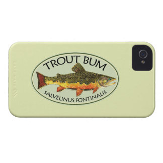 Trout Fishing Bum Case-Mate iPhone 4 Cases
