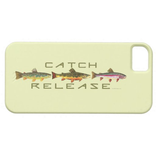 Trout Fishing Catch & Release iPhone 5 Cover