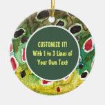 Trout Fishing Christmas Tree Ornament