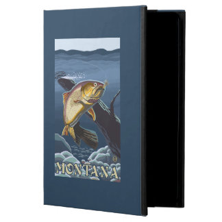 Trout Fishing Cross-Section - Montana Case For iPad Air